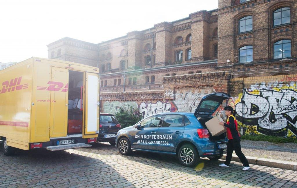 WE by Volkswagen Deliver VW DHL