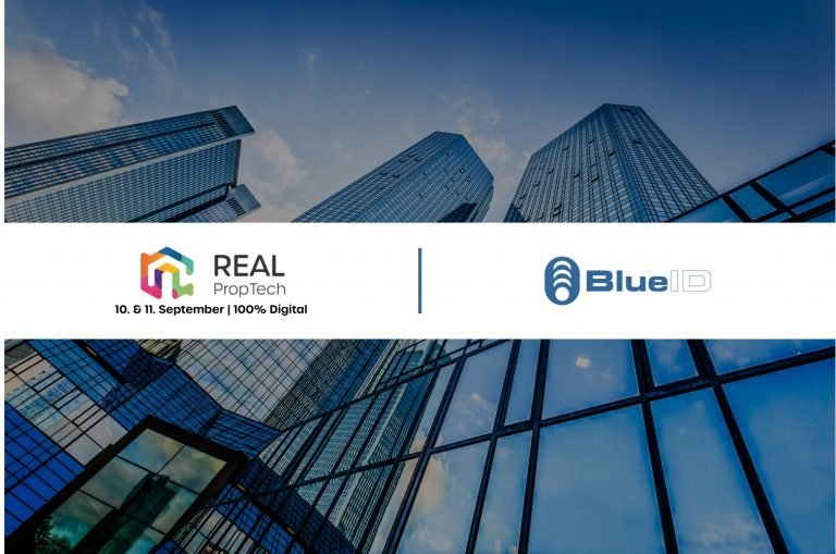 BlueID participates at REALPropTech 2020, the leading conference for innovation in real estate