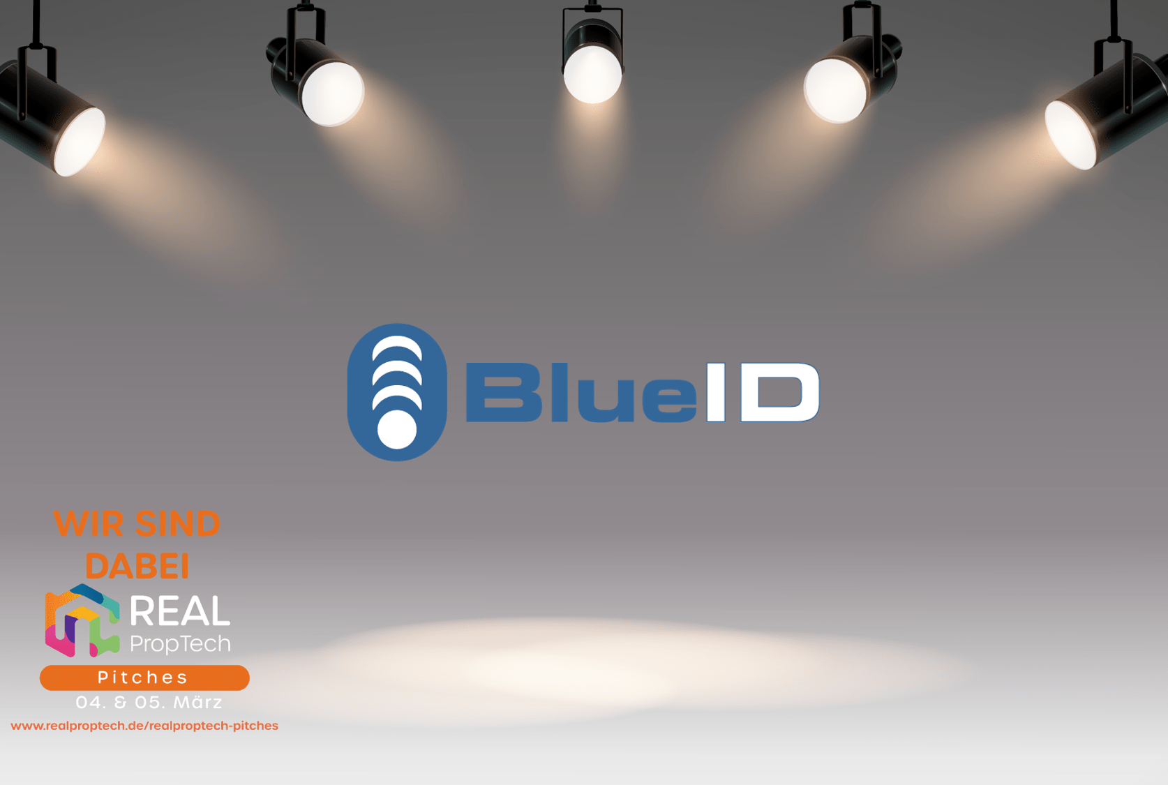 BlueID at the REAL PropTech Pitches 2021