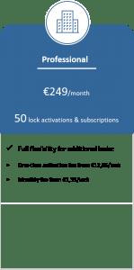 BlueID Enterprise Pricing Professional